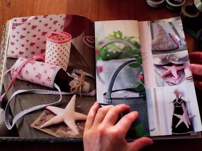 Ein Buch in ein Notizbuch verwandeln. Scrapbook selber machen
