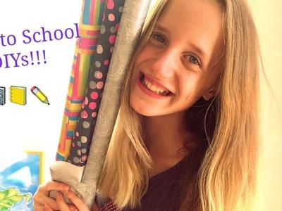 Diy School Supplies! I 6 Diys für die Schule I  Back to School with Lery I Lerys Lovely Life