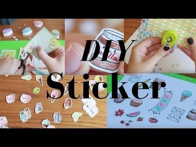DIY Sticker - 5 Ideen zum Sticker selber machen   | littlepaw
