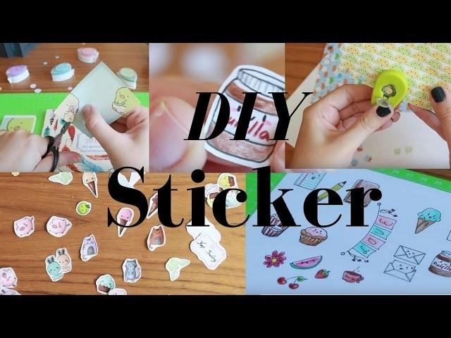 diy sticker 5 ideen zum sticker selber machen littlepaw. Black Bedroom Furniture Sets. Home Design Ideas