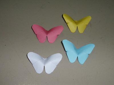 Basteln: Origami Schmetterling Falten Mit Papier ~ Bastelideen ~ Diy. Basteltipps. Geschenkideen