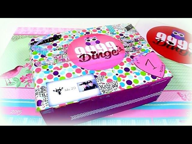 Tauschpaket von Rebecca # 27 Überraschung | 9999 Dinge - DIY, Basteln & Trends