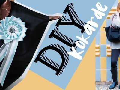 DIY Abzeichen - Kokarde ganz einfach selbst gemacht