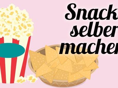 Snacks zum selber machen. fürs perfekte Date. 3 DIY Tipps