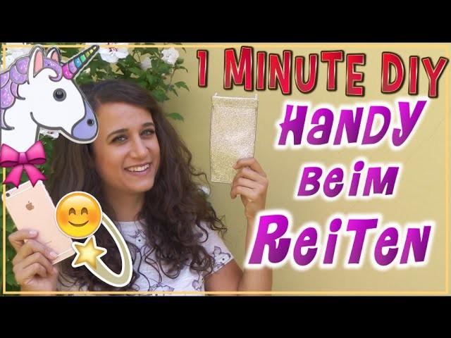1 Minute DIY Handytasche zum Reiten ✮ das verwende ich täglich ♥
