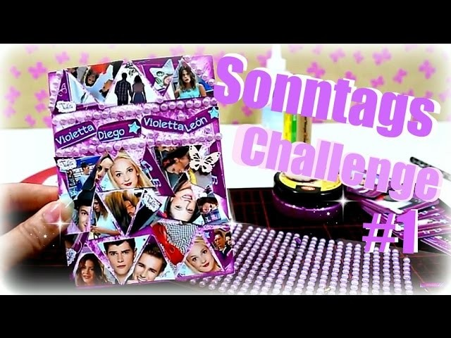 9999 Dinge Kreativ DIY Inspiration Challenge #1.1  Violetta deutsch   DIY Ideen Sonntags Challenge