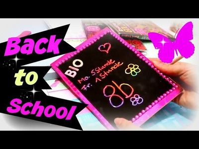 Back to School Video deutsch | Hefte & Hefter verschönern | 9999 Dinge - DIY, Basteln & Trends