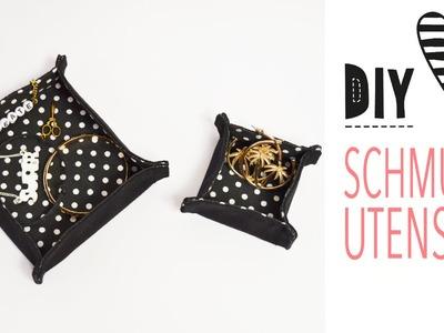 DIY MODE Schmuck-Utensilo nähen. Mit Schnittmuster Download
