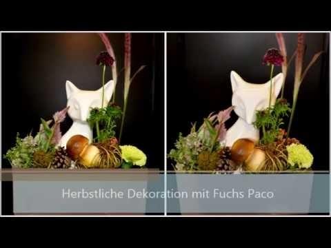 DIY Anleitung: Herbstdeko mit Fuchs Paco