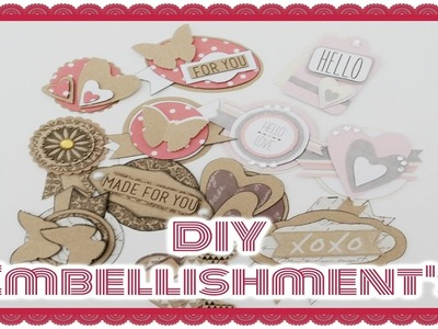 DIY Embellishment's ||  Craft update #5