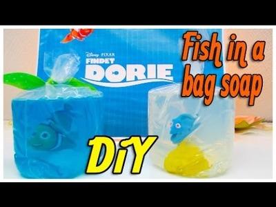 DiY Fisch Seife Findet Dorie. DiY Findet Dorie. Fish in a bag soap
