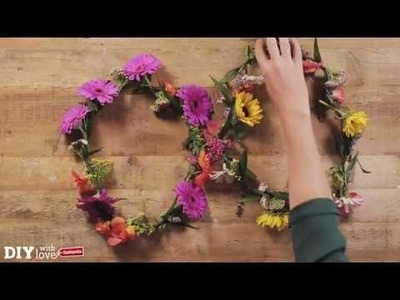DIY Flower Power-Blumenkette für den Festival-Look