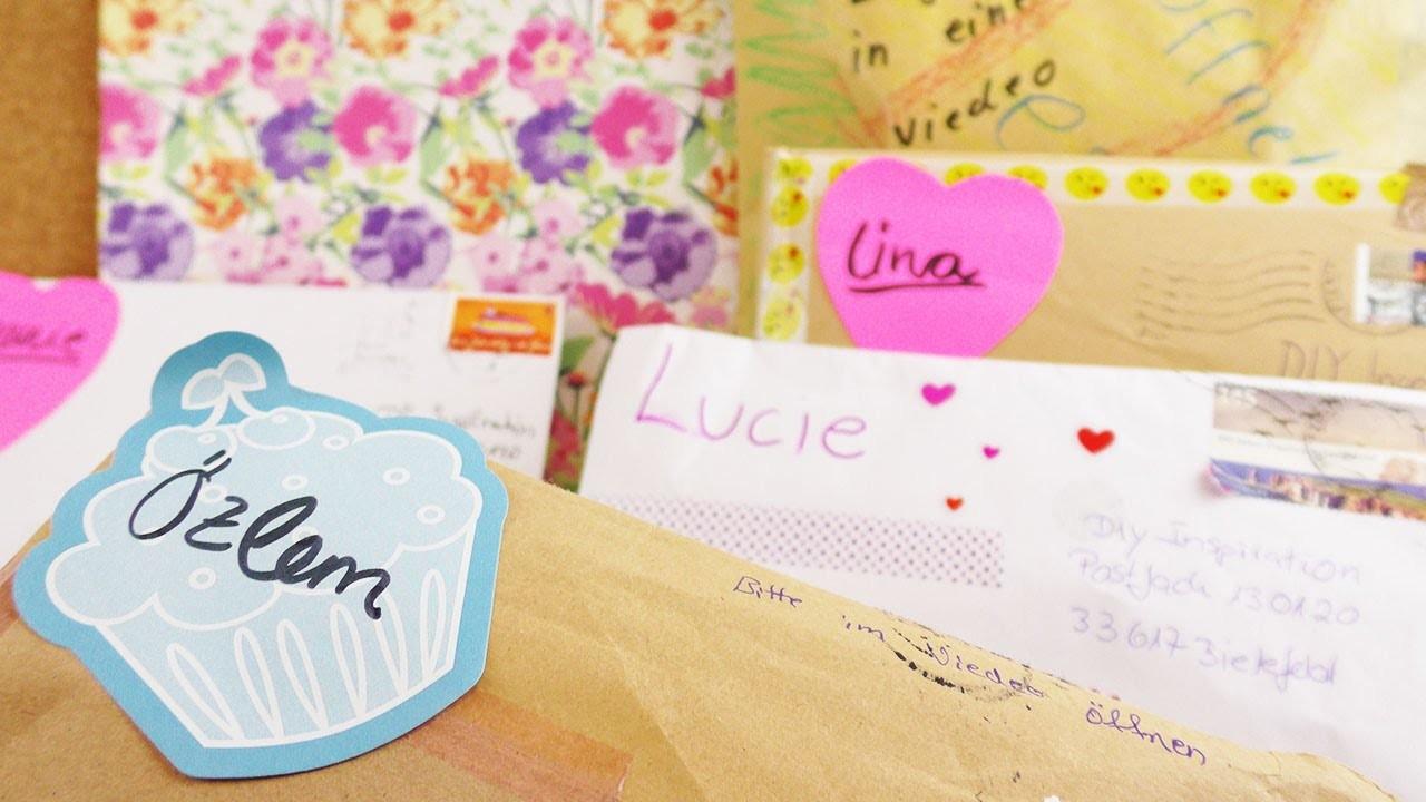 DIY Inspiration Fanpost unboxing | VIELEN DANK für eure Überraschungen und Geschenke