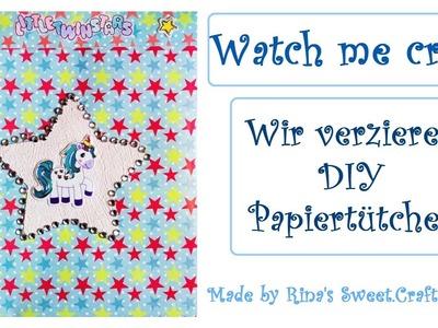 [DIY] Watch me craft - Kawaii Papiertütchen. Geschenktütchen