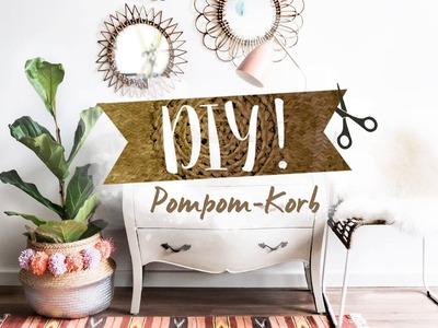 Pompom-Korb DIY | WESTWING DIY-Tipps