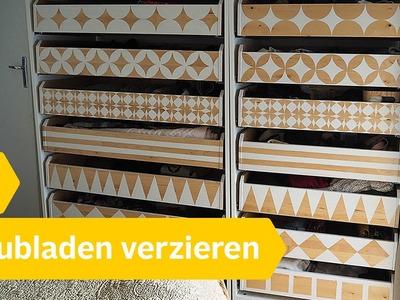 DIY Anleitung – Schubladen selbst neu gestalten & verzieren | Roombeez – powered by OTTO