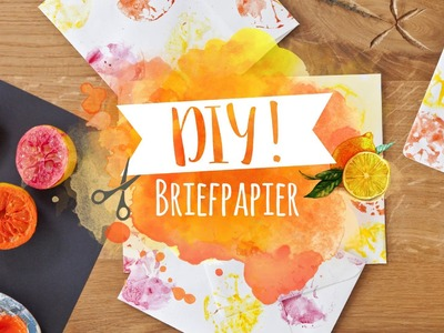 DIY Briefpapier bedrucken | WESTWING DIY-Tipps