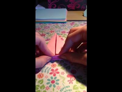 DIY: Origami Hasen für Ostern