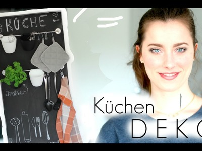 DIY - Tafelwand & Aufbewahrung für die Küche - DEKO