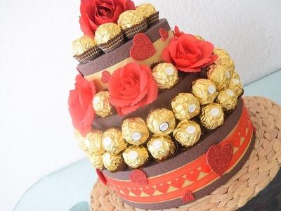 DIY Rocher Torte zum verschenken - Hochzeitsgeschenk o. andere besondere Anlässe