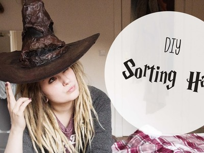 DIY SORTING HAT - HARRY POTTER - Lina Larsen