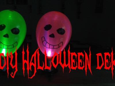 Schnelle & einfache Halloween Deko selber basteln - Gruselige Dekoration selbst machen – DIY deutsch