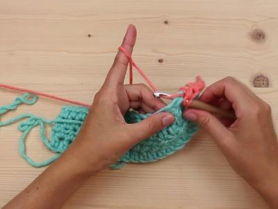 Crochet Along 2016 -Schritt 4 kleines Quadrat