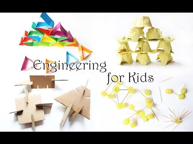 DIY Spiele   Bauen und Konstruieren für Kinder   Upcycling   Baukasten selbst gemacht   Mama Kreativ