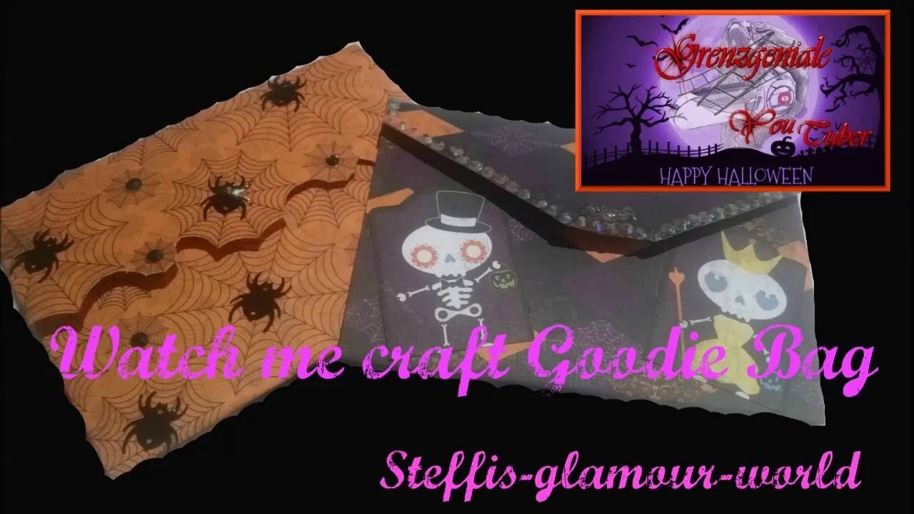Grenzgeniale Goodie Bag  Watch me craft.anleitung. tutorial