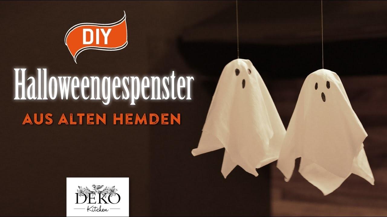 DIY: süße Halloween-Gespenster aus alten Hemden [How to] Deko Kitchen