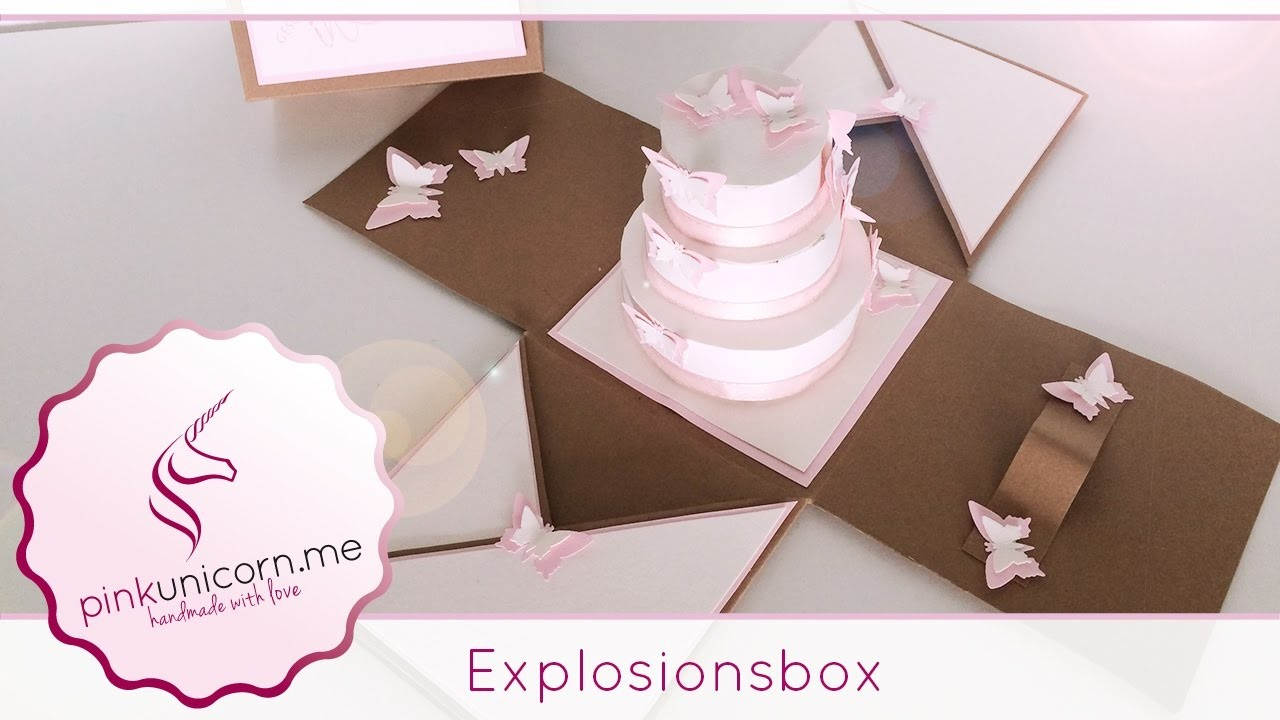 explosionsbox basteln diy bastelideen anleitung. Black Bedroom Furniture Sets. Home Design Ideas