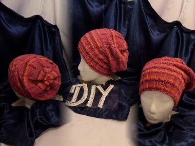 DIY by keka : Mütze, Beanie Mary STRICKEN lernen, ANLEITUNG;auch Anfänger.TIPPS+TRICKS