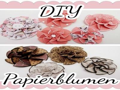 DIY Papierblumen    Craft update #7    + Tutorial