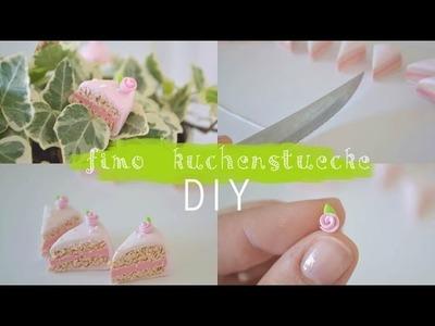 FIMO Kuchenstücke DIY
