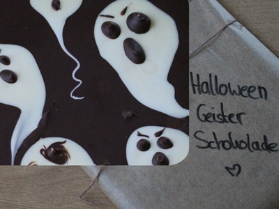 HALLOWEEN Ghost Chocolate bar DIY SNACKS Creoctober