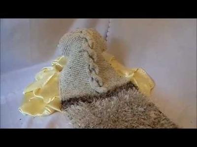 DIY by keka Wir STRICKEN einen breiten Kuschel-Zopf Mix SCHAL; STOLA - Geschenkidee