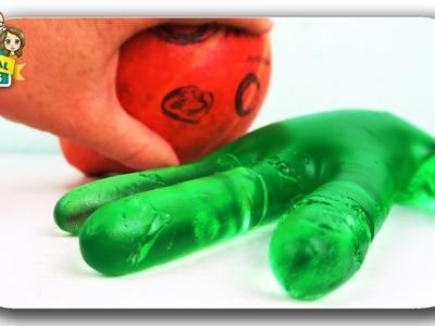DIY Riesen Gummibärchen Hand Jelly ☺ DIY Halloween deutsch