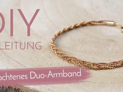 DIY Anleitung - Geflochtenes Duo-Armband