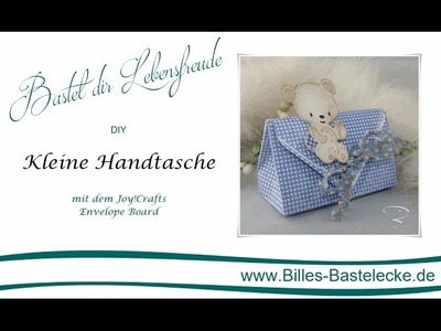 DIY: Kleine Handtasche mit dem Envelope Board von Joy!Crafts