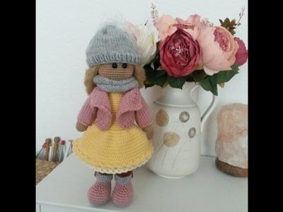 Doll crochet #Part 4