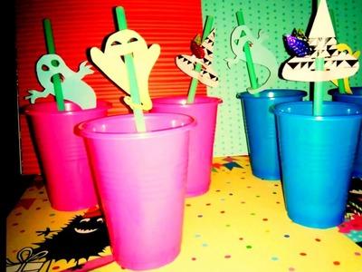 DIY Halloween Basteln - Kinderleicht und schnell