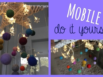 Mobile fürs Baby   do it yourself   DIY