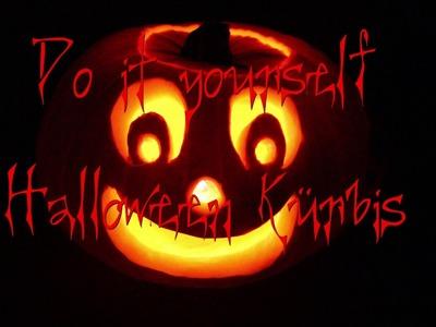 Kürbis schnitzen,Halloween life hacks,diy halloween pumpkin