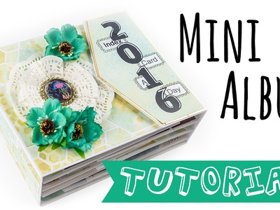"[Scrapbook Tutorial] Mini Album ""ICAD 2016"" 