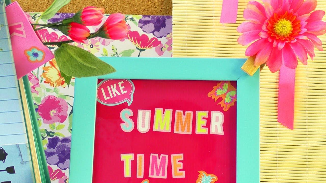 3 coole Dekoideen für den Sommer