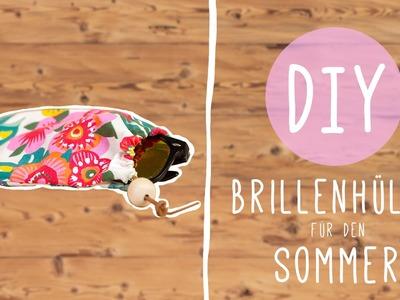 Brillenetui selber gestalten: Sommer DIY