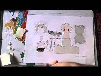 Juuzou von tokyo ghoul #2 papercraft
