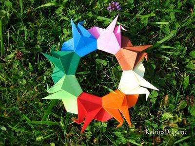 Origami ❉ Crane Mandala ❉