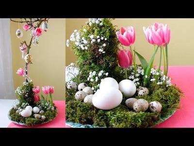 "DIY Blumengesteck zu Ostern ""low budget"". by Lucky Beetle"