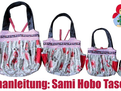 DIY | Nähanleitung: Handtasche. Hobo Tasche | Sami Doll Tutorials